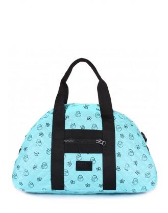 Голубая стеганая сумка Alaska