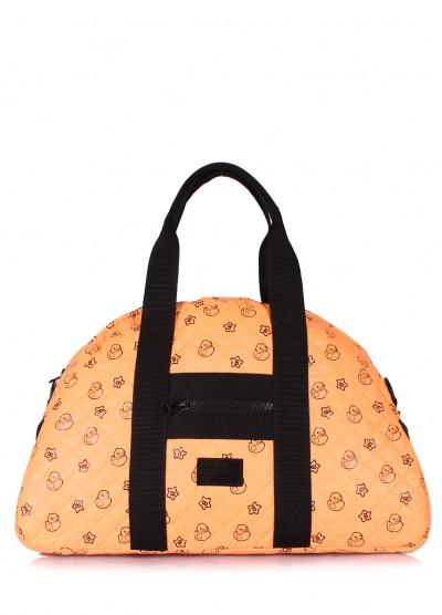Оранжевая стеганая сумка Alaska