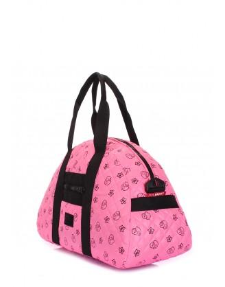 Розовая стеганая сумка Alaska