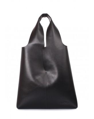 Кожаная сумка-шоппер AMORE