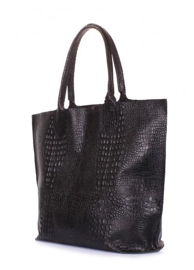 Кожаная сумка POOLPARTY Amphibia