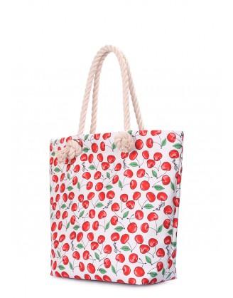 Летняя сумка Anchor с черешнями