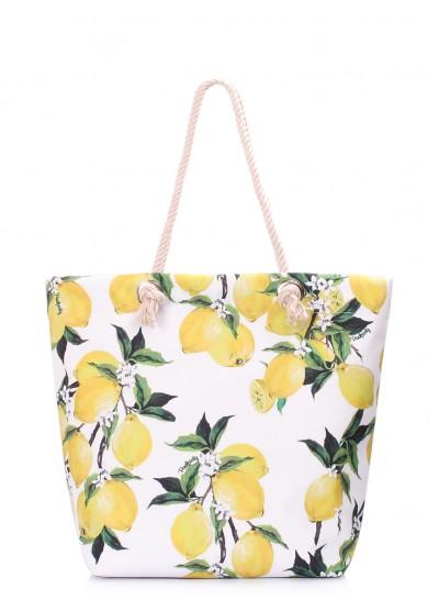 Летняя сумка Anchor с лимонами