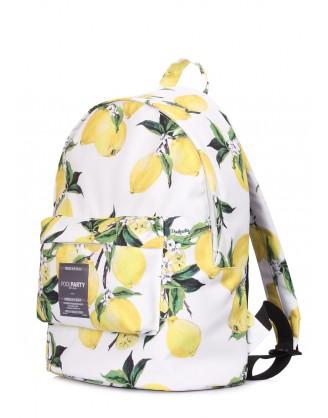 Рюкзак POOLPARTY с лимонами
