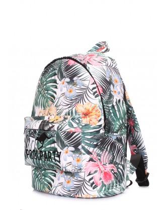 Рюкзак POOLPARTY с тропическим принтом
