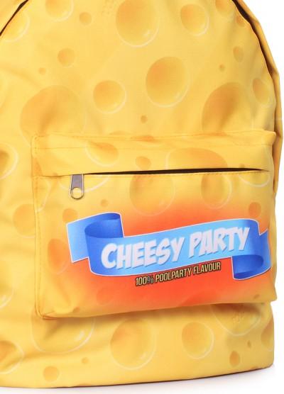Рюкзак CHEESY PARTY с сырным принтом