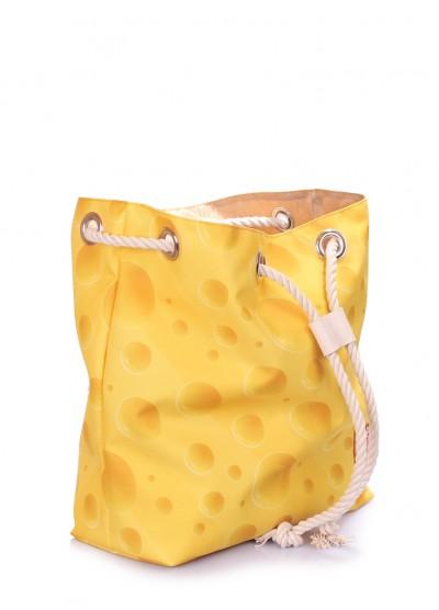Летний рюкзак с сырным принтом