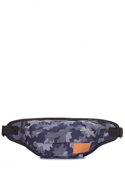Джинсовая камуфляжная сумка на пояс Bumbag