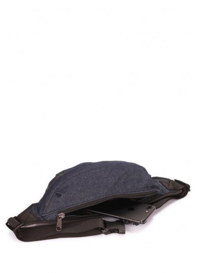 Джинсовая сумка на пояс POOLPARTY Bumbag