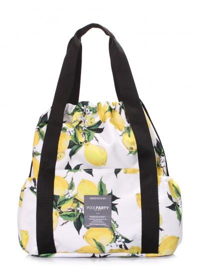 Сумка Felicita с лимонами на шнурке