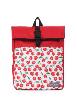 Рюкзак-роллтоп Finder с черешнями