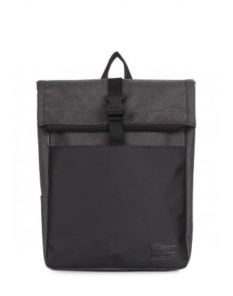 Графитовый рюкзак-роллтоп Finder