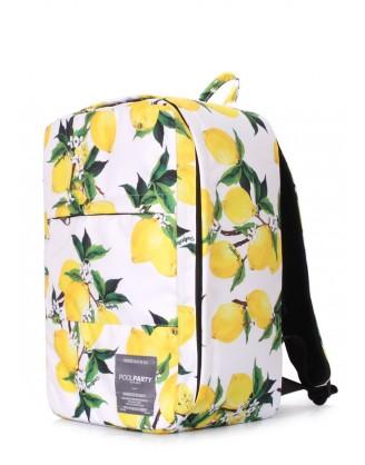 Рюкзак с лимонами для ручной клади HUB - Ryanair/Wizz Air/МАУ