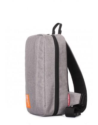 Серый рюкзак-слингпек Jet