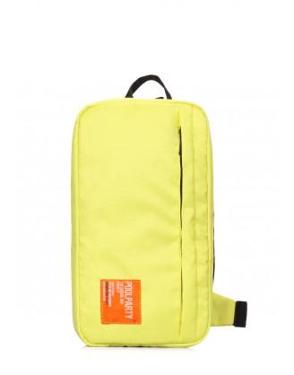 Жёлтый рюкзак-слингпек Jet