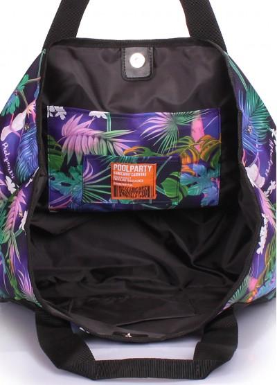 Летняя сумка Laguna с тропическим принтом