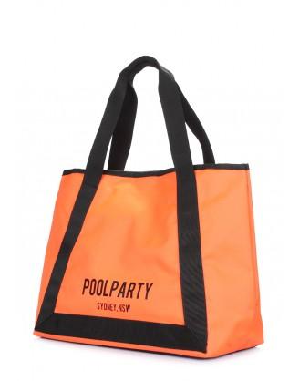 Летняя оранжевая сумка Laguna