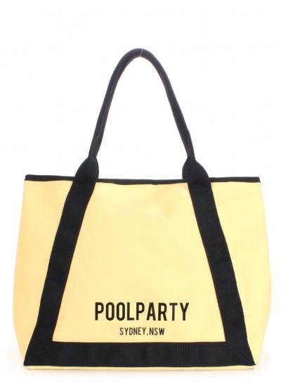 Коттоновая сумка POOLPARTY Laguna