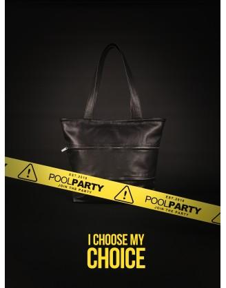 Кожаная сумка POOLPARTY Choice