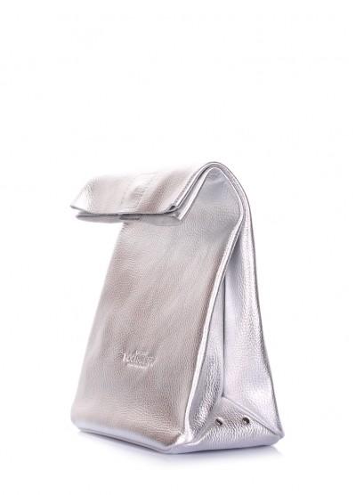 Кожаная сумка-клатч POOLPARTY Lunchbox