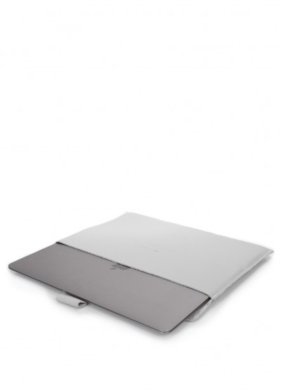 """Кожаный чехол для MacBook 13"""" серый"""