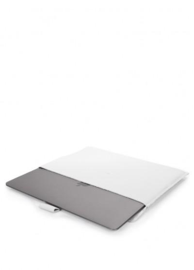 """Кожаный чехол для MacBook 13"""" белый"""