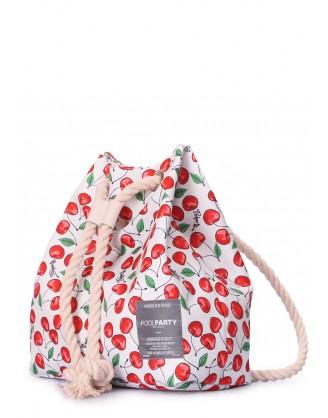 Летний рюкзак с черешнями