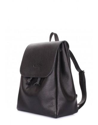 Рюкзак кожаный на завязках POOLPARTY Paris