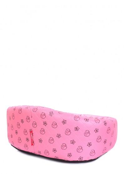 Розовый лежак для кошек и собак DUCKS