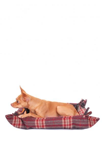 Лежанка для кошек и собак PLAID