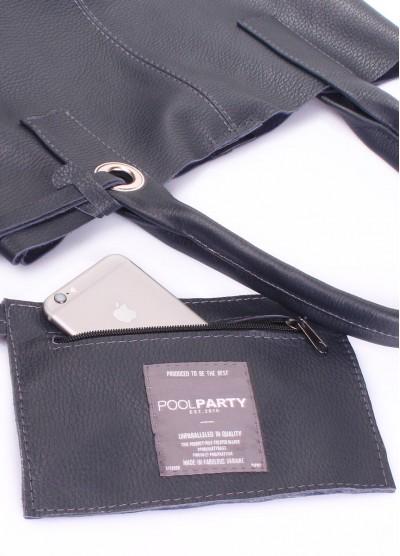 Кожаная сумка POOLPARTY Podium
