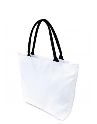 Коттоновая сумка с принтом Retro Never Dies