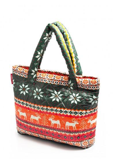 Дутая сумка POOLPARTY с оленями