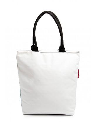 Коттоновая сумка POOLPARTY с пин-ап принтом