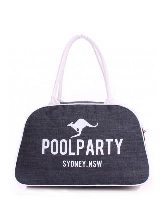 Джинсовая сумка-саквояж POOLPARTY