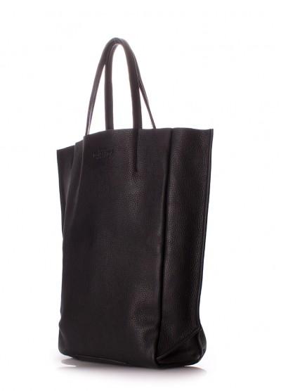 Кожаная сумка-шоппер POOLPARTY BigSoho