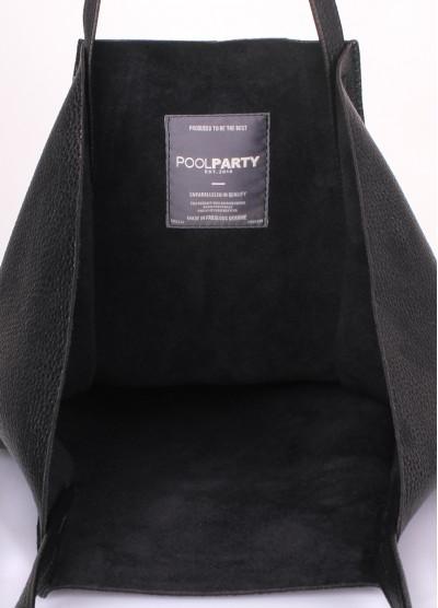 Кожаная сумка Edge Black
