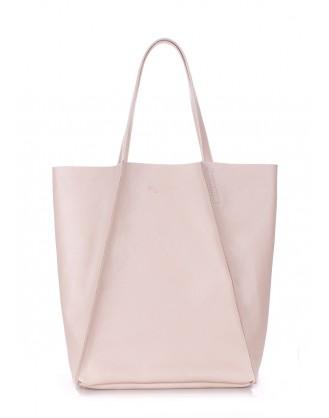 Кожаная сумка Edge Beige