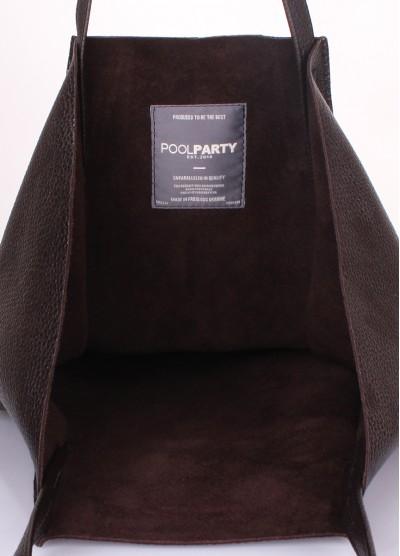Кожаная сумка Edge Brown