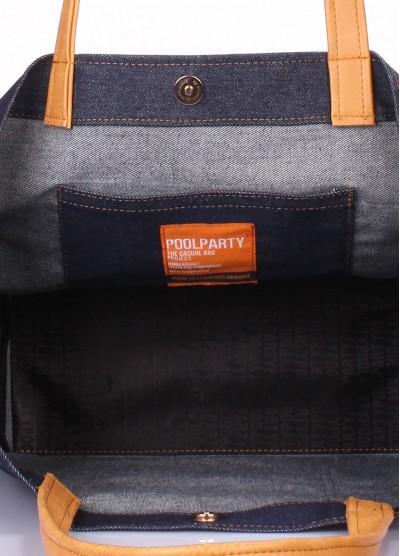 Джинсовая сумка POOLPARTY Rodeo
