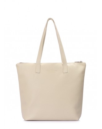 Кожаная бежевая сумка Secret