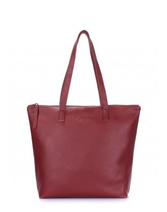 Кожаная сумка POOLPARTY Secret
