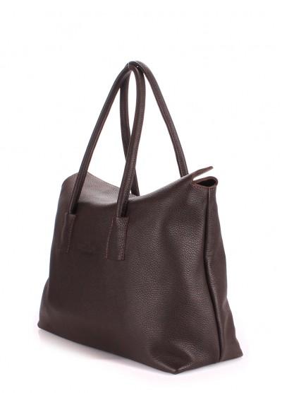 Кожаная сумка POOLPARTY Sense