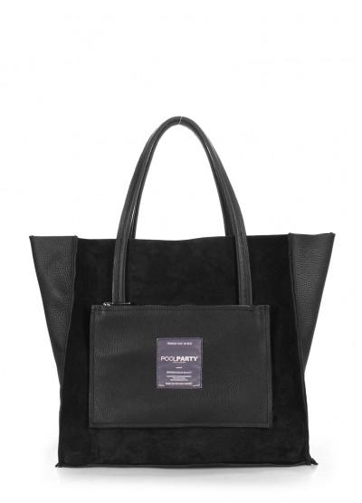 Кожаная сумка POOLPARTY Soho