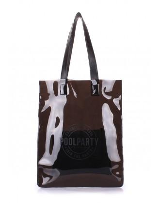 Прозрачная сумка POOLPARTY Toxic
